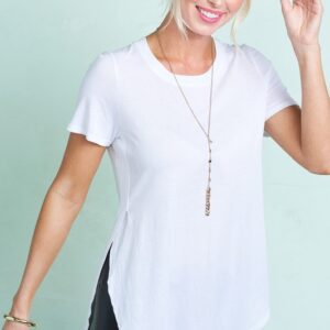 Rapture Tee in White