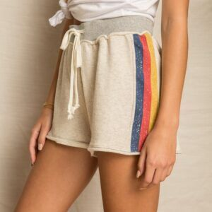 Stacey Striped Shorts